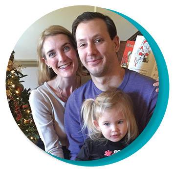 Rhiannon, Mark, and Lucia